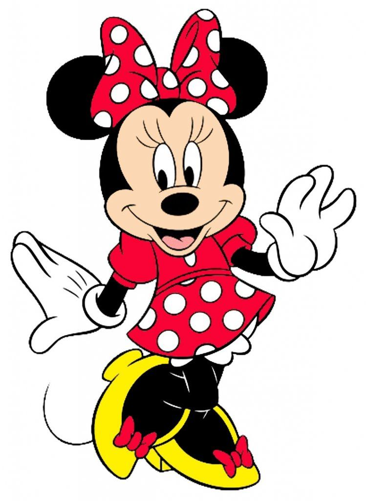 749x1024 Minnie Mouse Wallpapers Disney Magic! Face Cut
