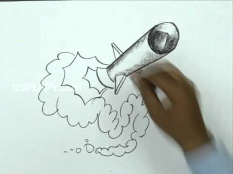 480x360 How To Draw A Missile