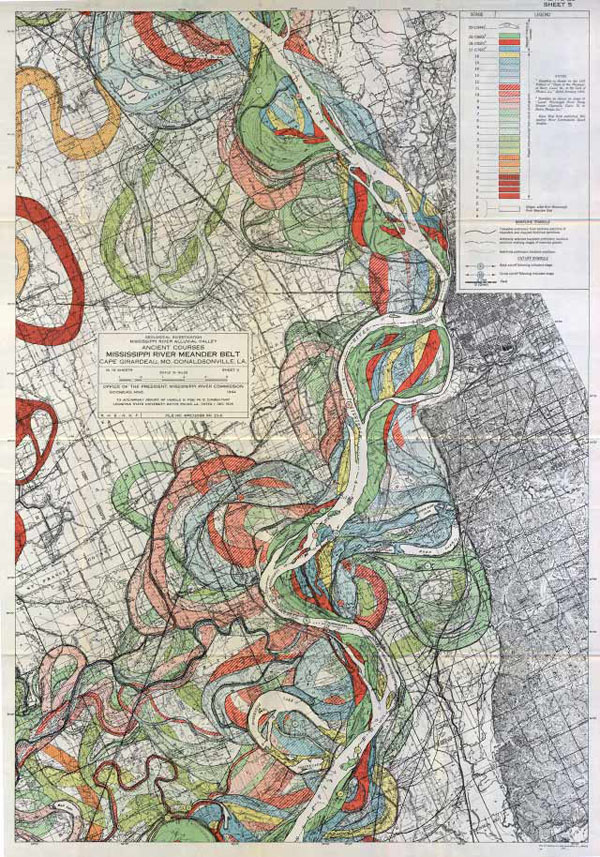 600x857 gorgeous vintage maps of the mississippi