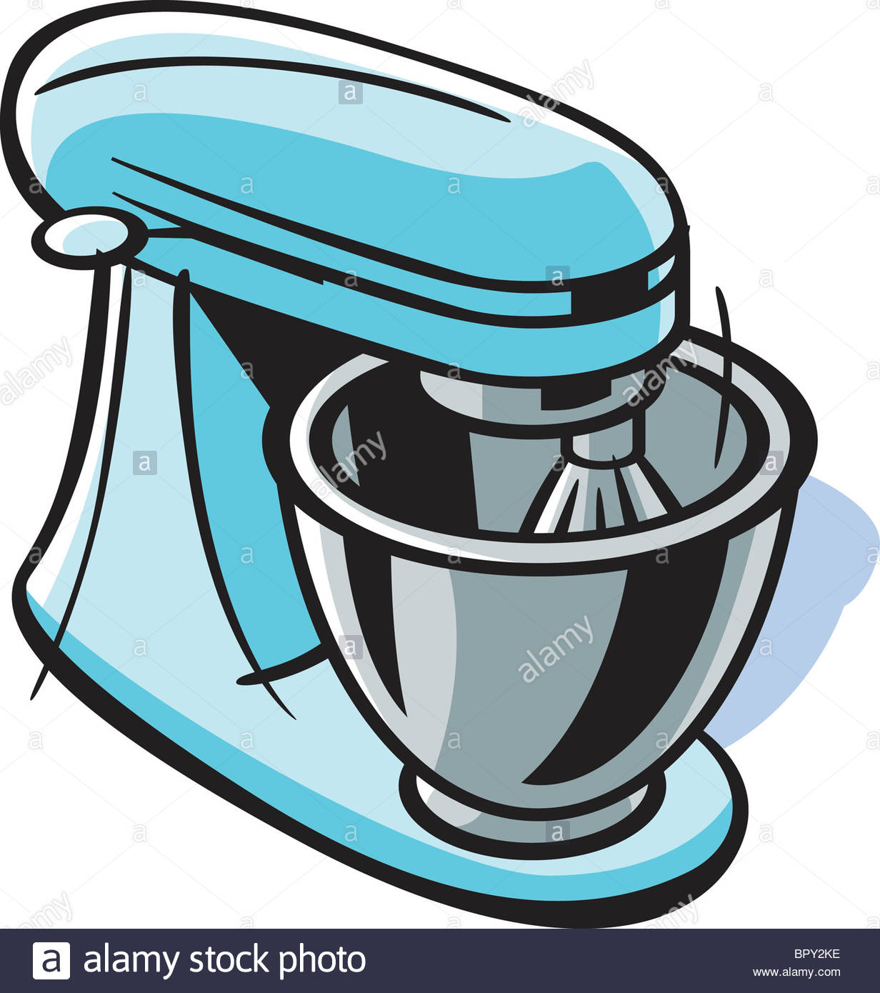 1232x1390 Drawing Of A Stand Mixer Stock Photo, Royalty Free Image 31327618
