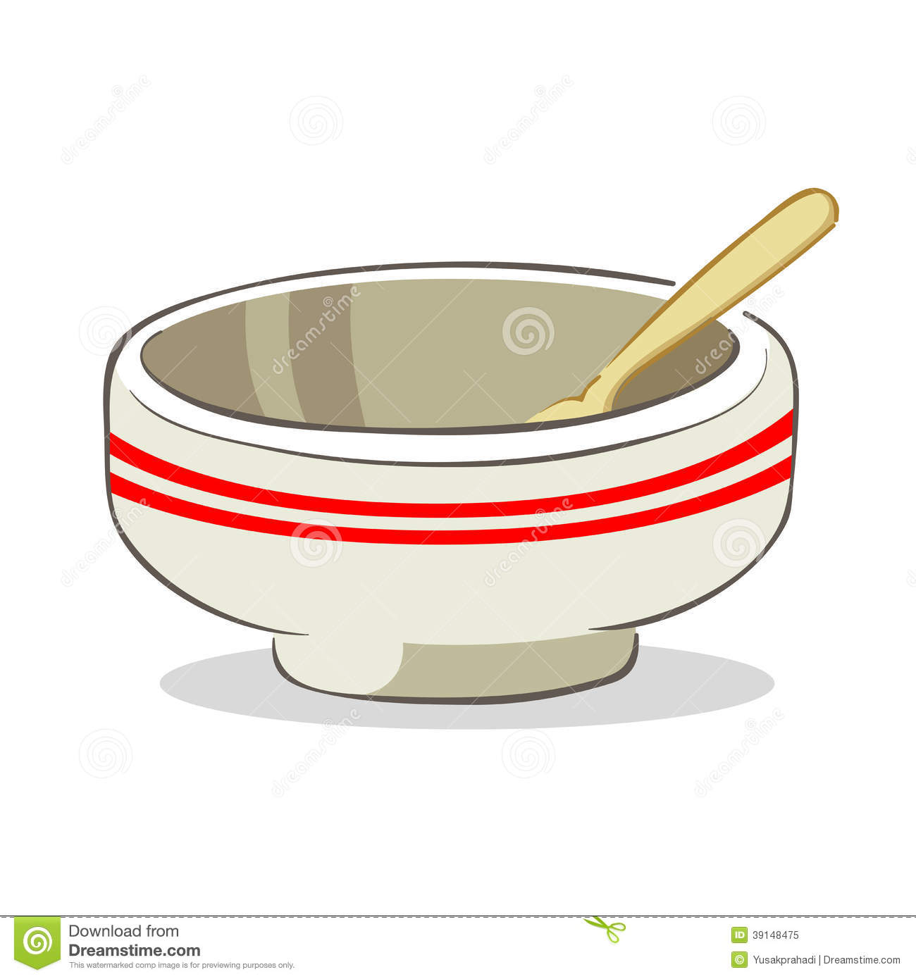 1300x1390 Empty Mixing Bowl Clipart