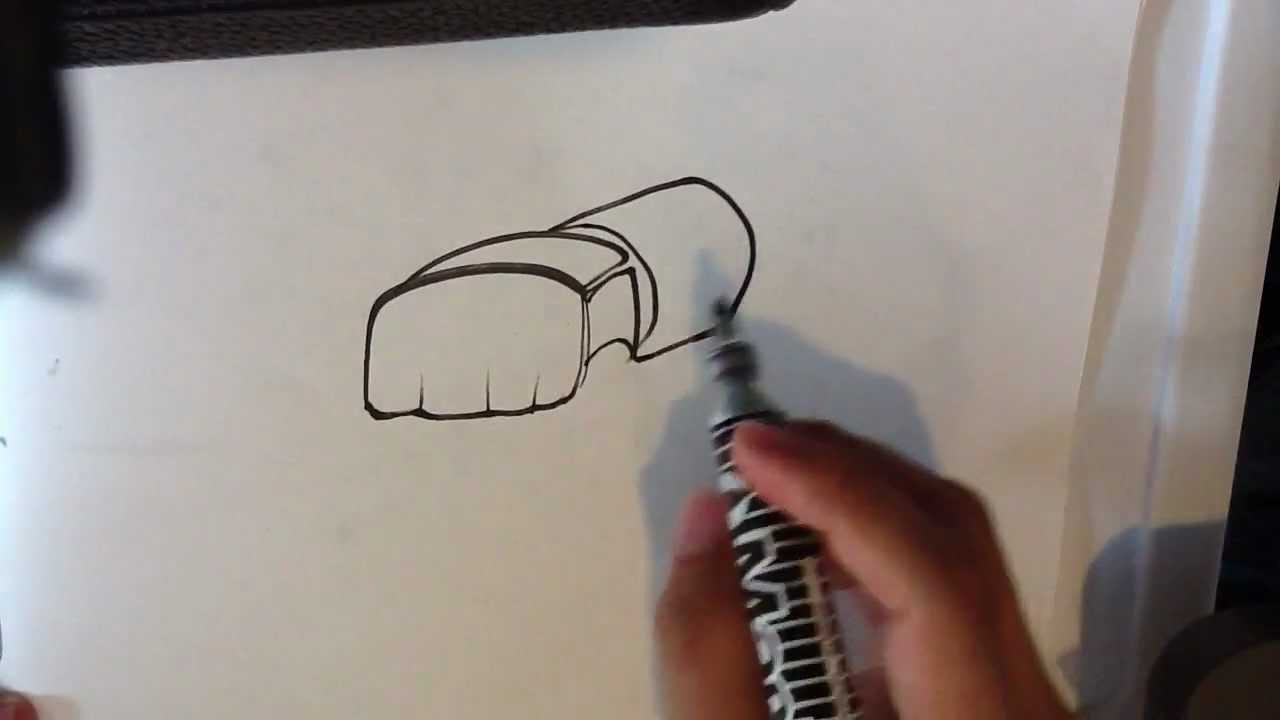 1280x720 How To Draw An Mma Glove