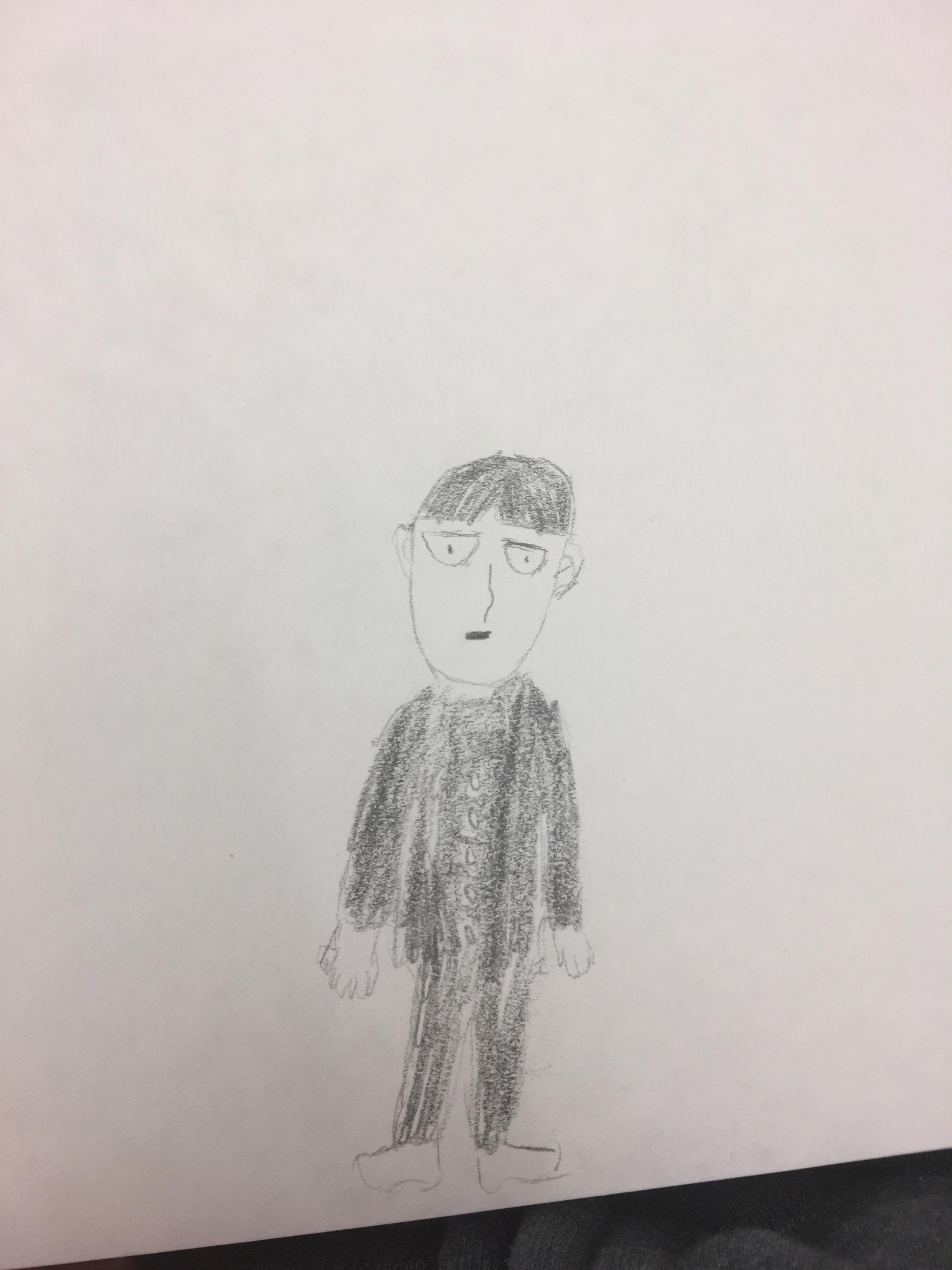 3024x4032 My Quick Mob Drawing. I Think I'M Close To One's Starting Level