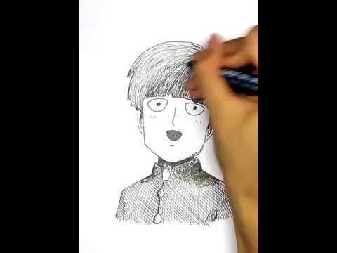 480x360 This Is How I Draw Mob (Mob Psycho 100)