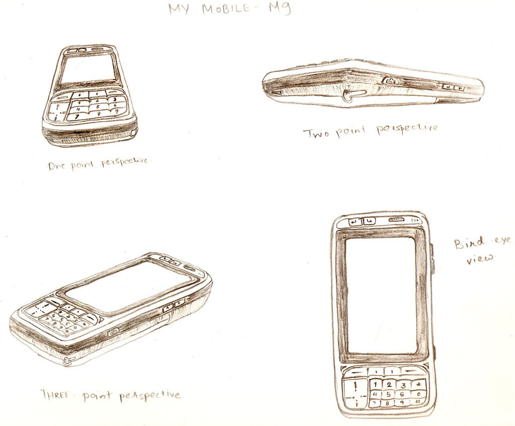 1024x847 Perspective Drawing Mobile By Indu111