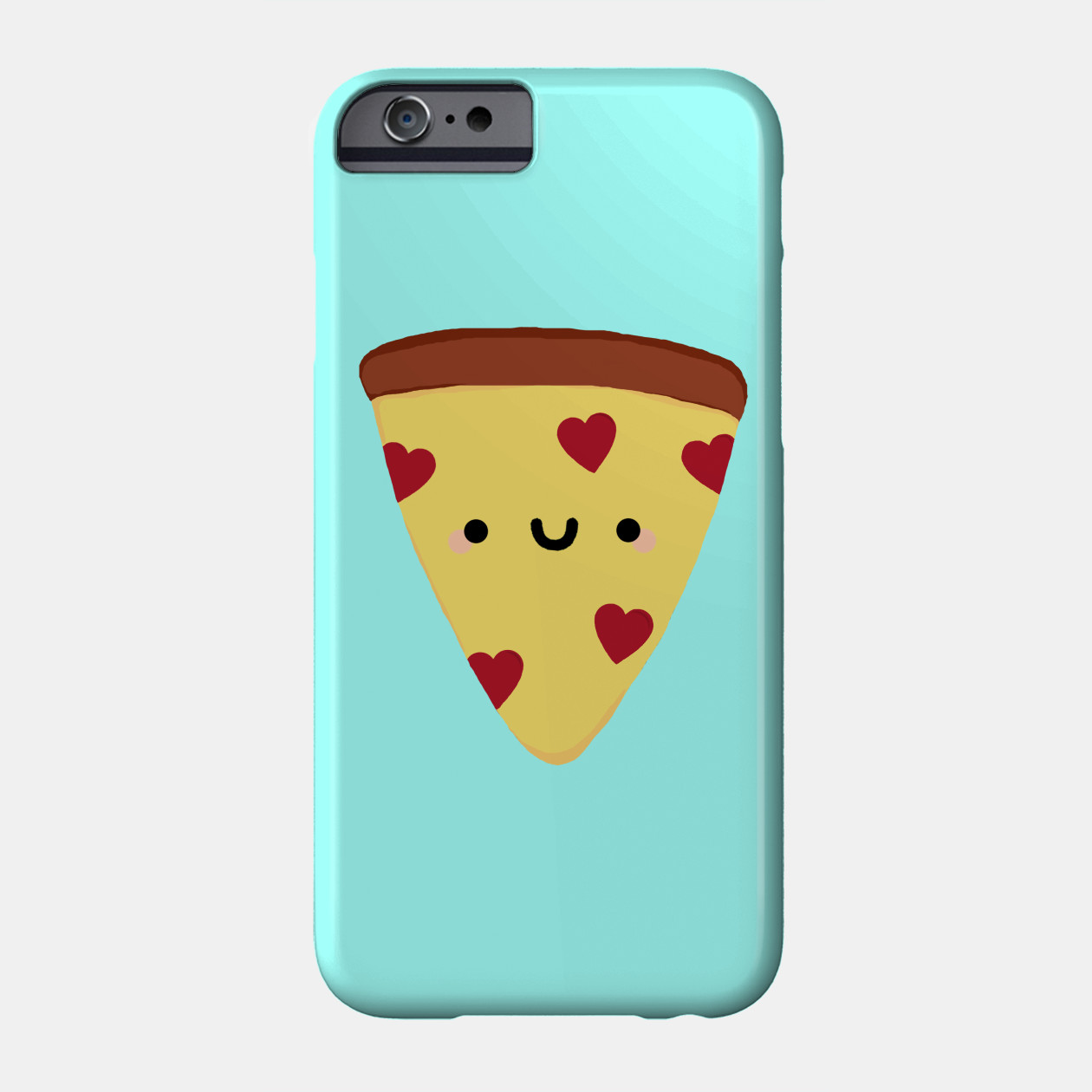 1260x1260 Cute Cell Phone Case, Pizza, Pizza Case, Kawaii Pizza, Pizza