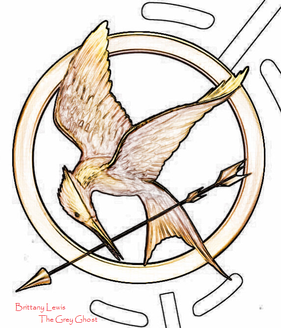 Mockingjay Drawing At Getdrawings Free For Personal Use