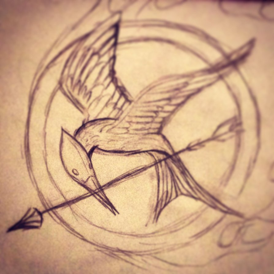 894x894 The Hunger Games Mockingjay Pin By Souleaterragnorok