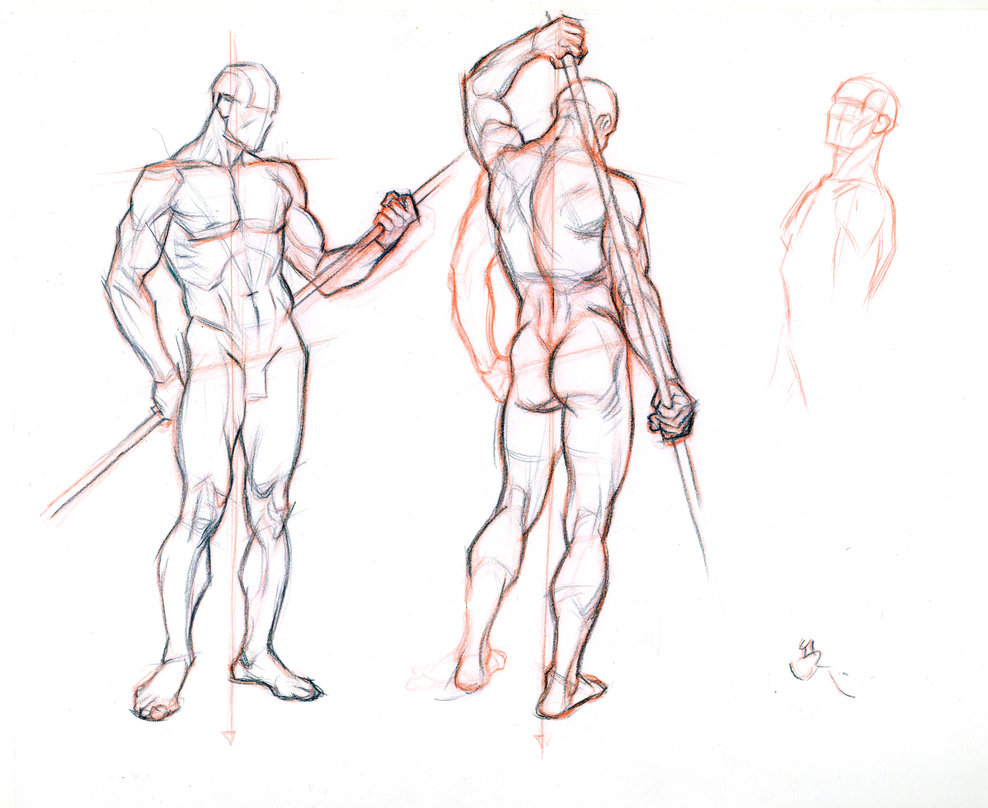 988x808 Figure Drawing Without A Model 2 By Abdonjromero