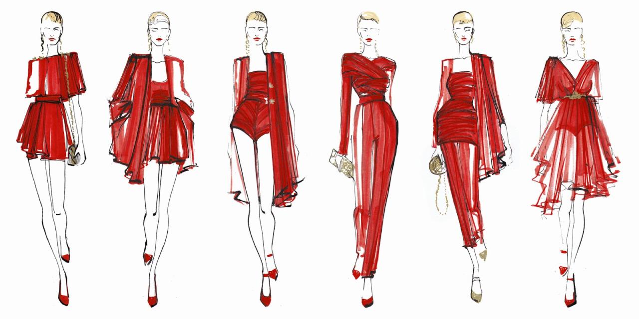 1280x640 Fashion Drawing âu20acu201c Four Views When Drawing A Model Magic Advice