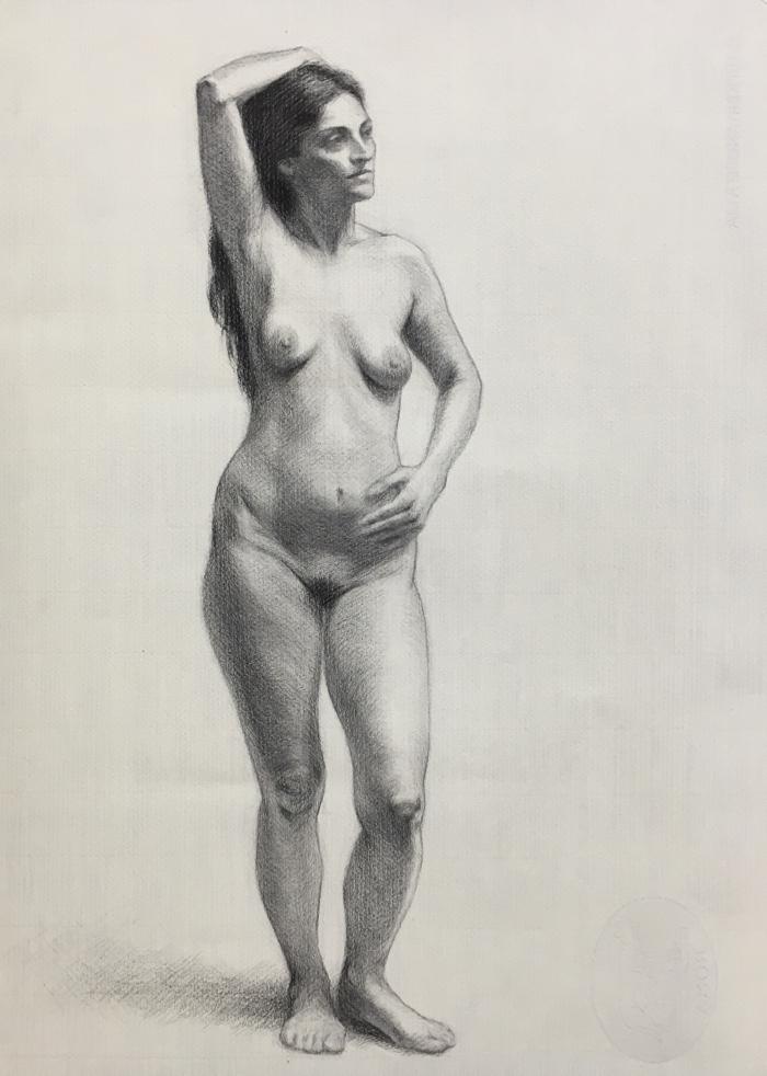 700x982 Figure Drawing