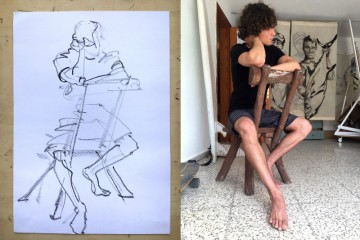 360x240 Live Model Drawing Lanzarote Archives