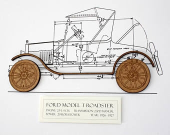 340x270 Model T Ford Etsy