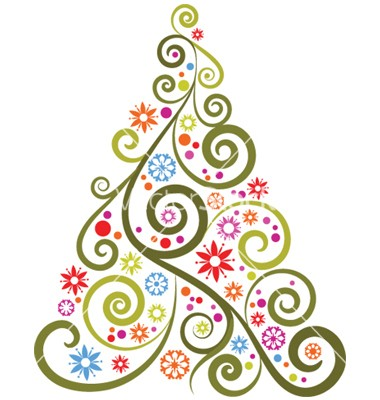 380x400 Abstract Christmas Tree Clipart Find Craft Ideas