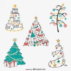 236x236 Christmas Tree Ornamnts Stars Christmas Holiday Modern Christmas