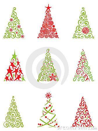 337x450 Modern Christmas Tree Navidad Modern Christmas