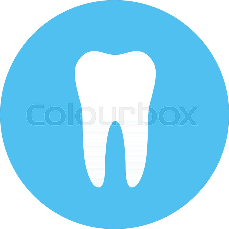 800x800 White Molar Tooth Poster Template. Graphic Design Element