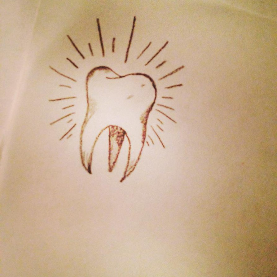 894x894 Wisdom Molar Tooth Tattoo Design By Anjaabsinthe