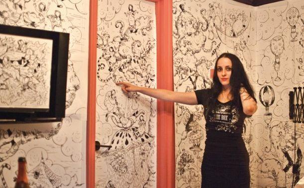 611x377 Artist Molly Crabapple On Drawing Guantanamo Bay