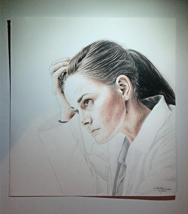 600x682 Pellerin On Twitter My Drawing Of @louisebrealey As Molly