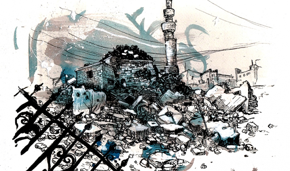 937x552 Writer And Illustrator Molly Crabapple Is Drawing The Islamic