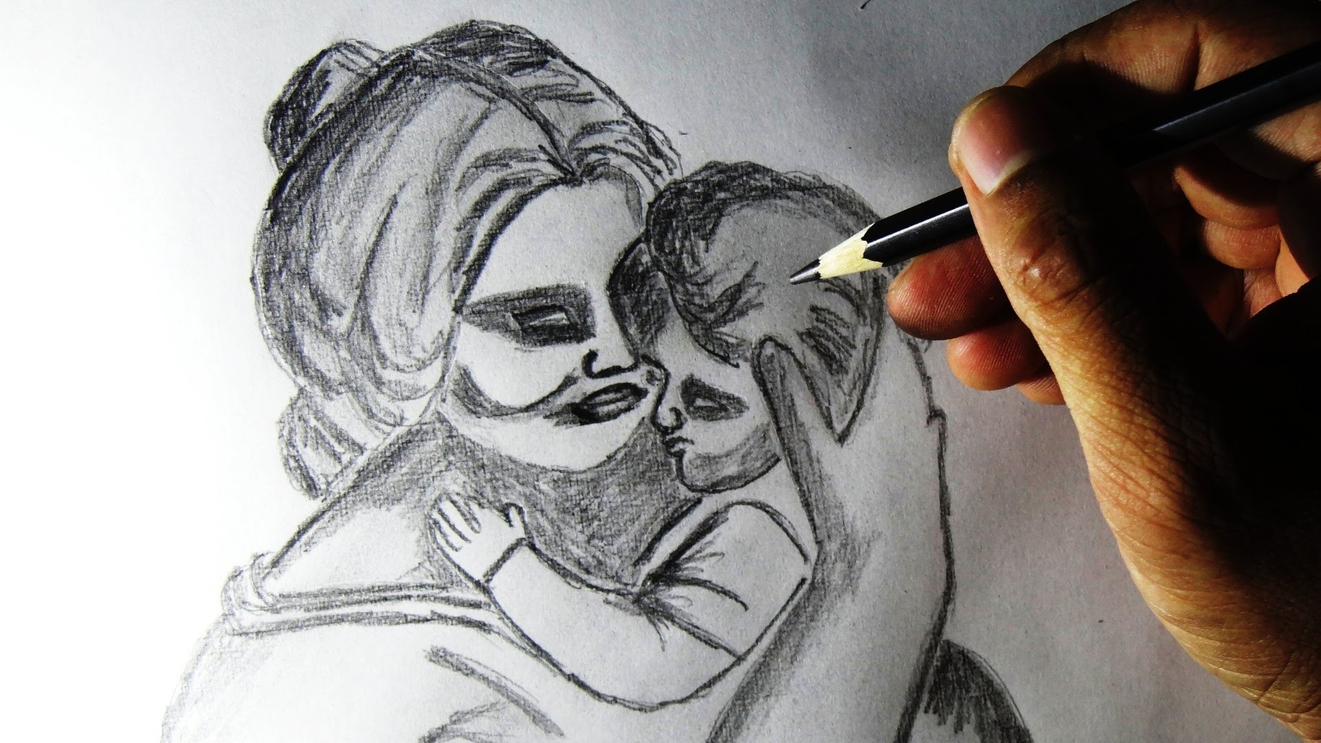 Mom And Baby Drawing at GetDrawings com   Free for personal use Mom