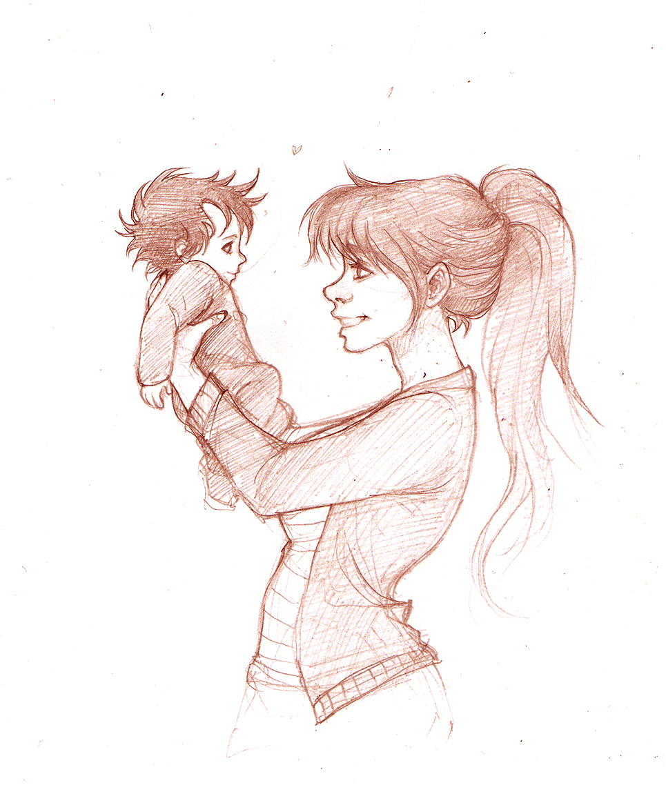 965x1138 Lily And Baby Harry By Duck