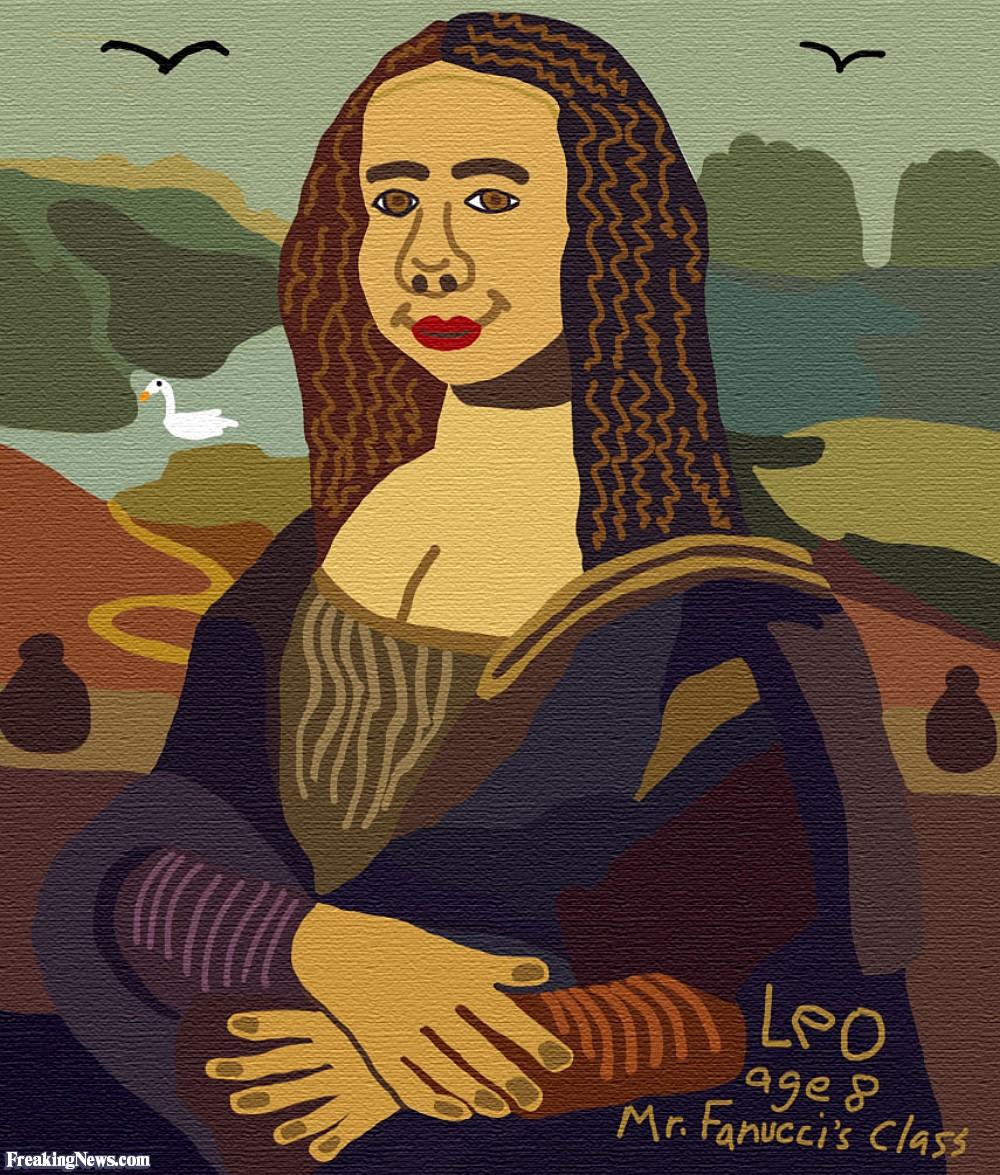 1000x1175 Da Vinci's First Mona Lisa Pictures