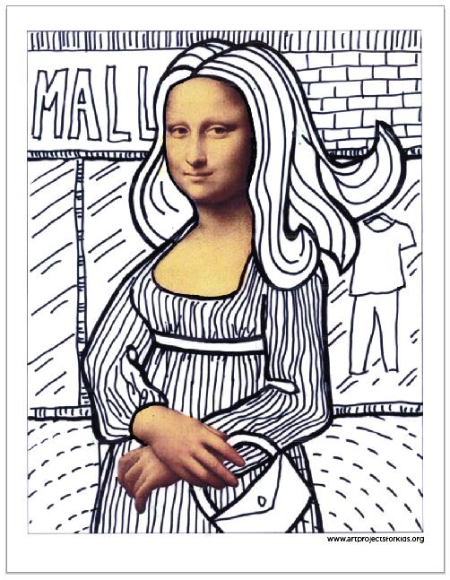 502x647 Fun With Mona Lisa