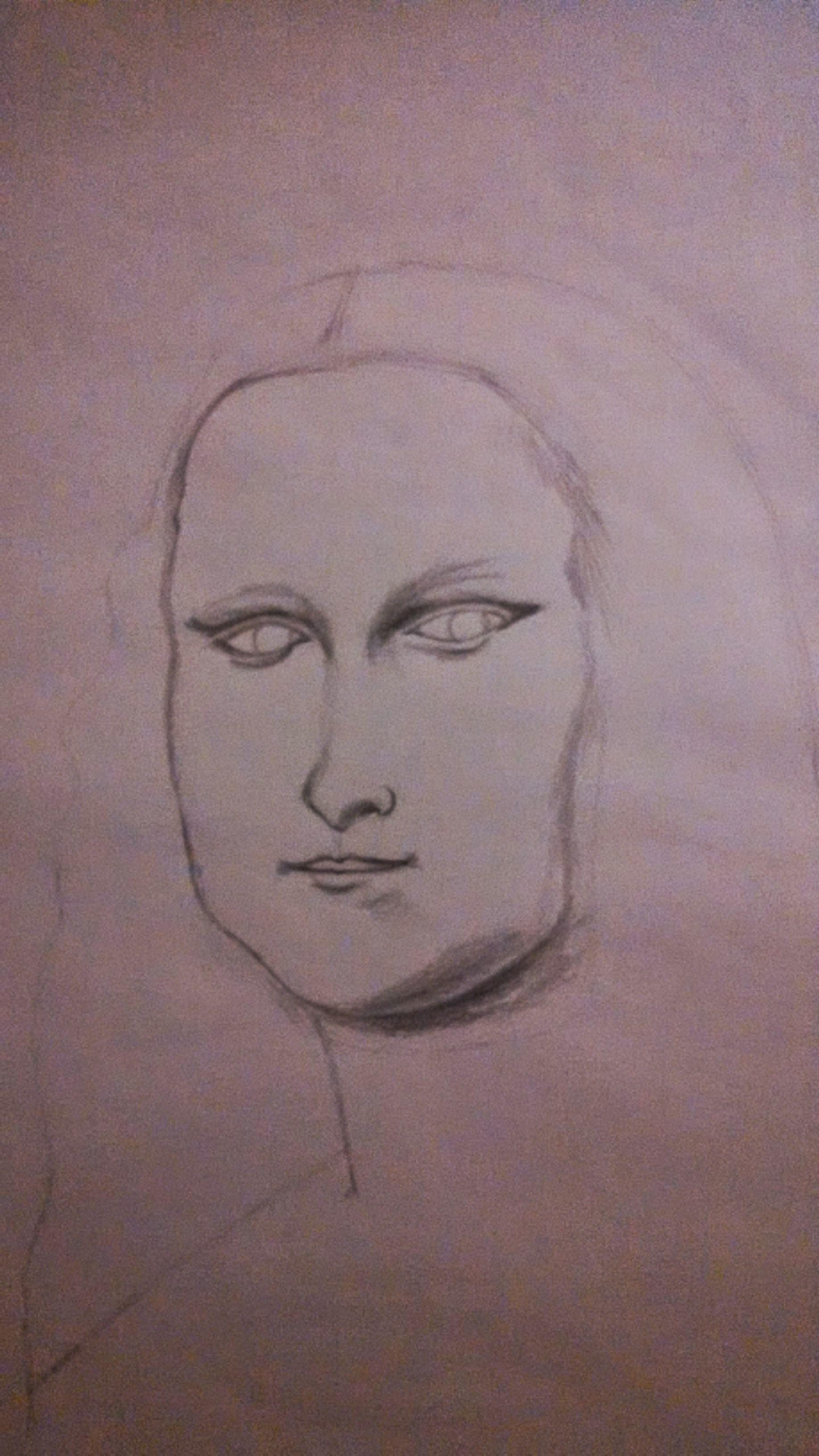 1836x3264 Mona Lisa Drawing Tutorial A True Inspiration Steemit