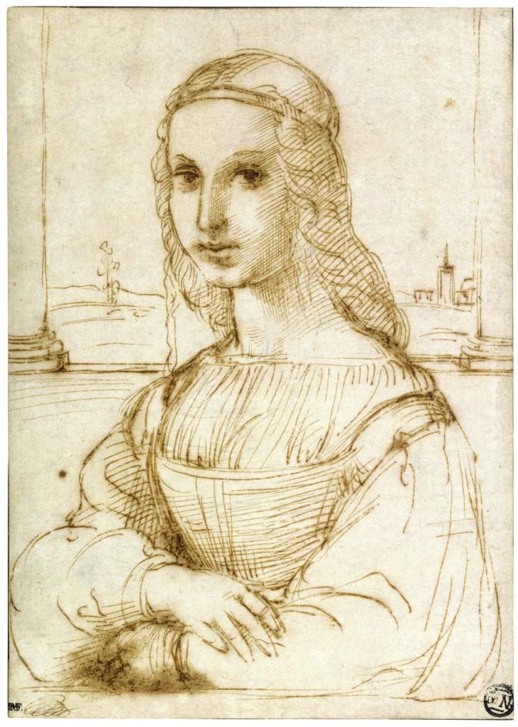 730x1024 The Raphael Sketch