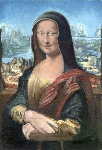 408x600 Wip Mona Lisa In Homage To Leonardo Da Vinci [Archive]