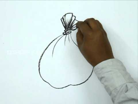 480x360 How To Draw A Money Bag