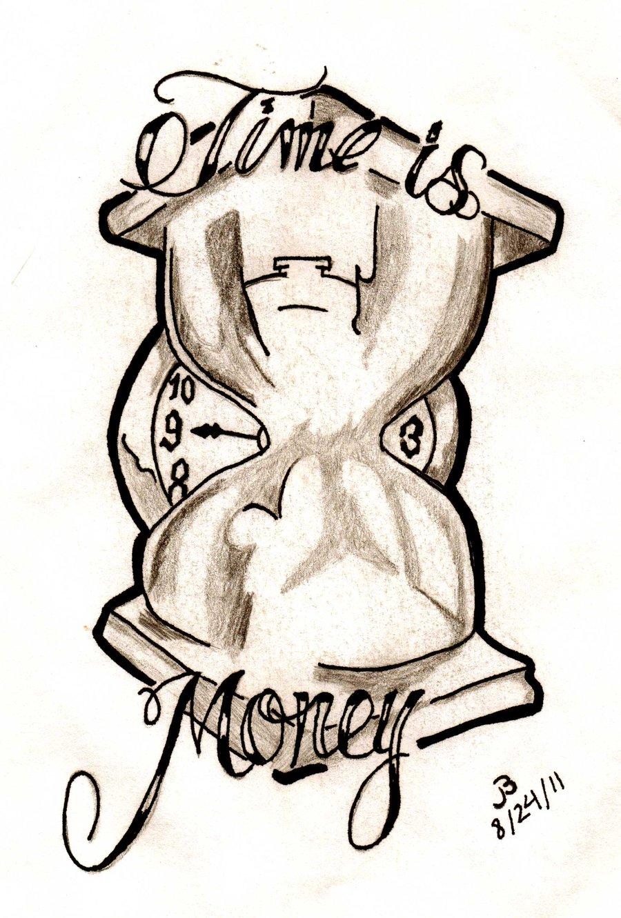 900x1331 Money Tattoo Drawings