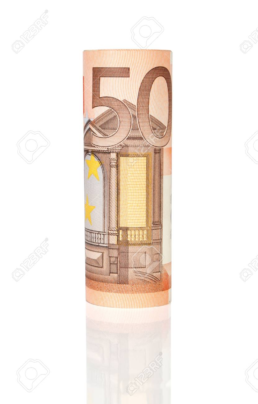 831x1300 Euro Money Roll Stock Photo, Picture And Royalty Free Image. Image