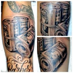 236x236 Money Tattoos Money Tattoo, Tattoo And Tatting