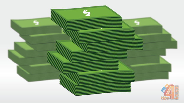 623x350 Illustrator Drawing Vectorized Stack Of Money Tutorial