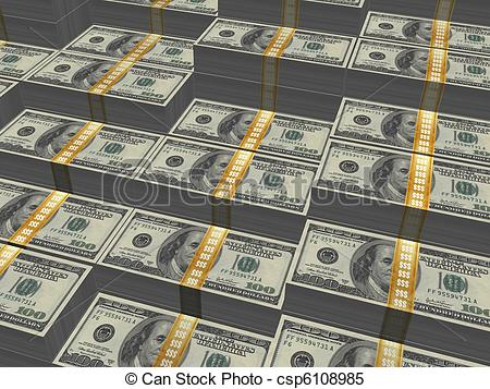 450x357 Money Stack Big Stack Of Money Stock Illustrations