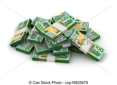 450x327 Stack Of Australian Dollar Stock Illustrations