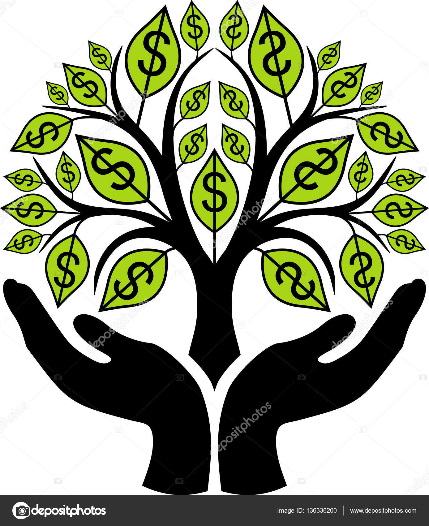 Money Tree Drawing at GetDrawings.com | Free for personal use Money ...