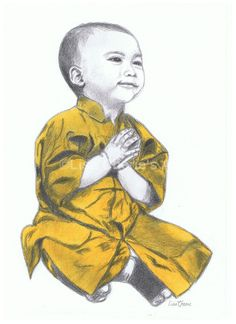 236x324 Child Monk Art Prints