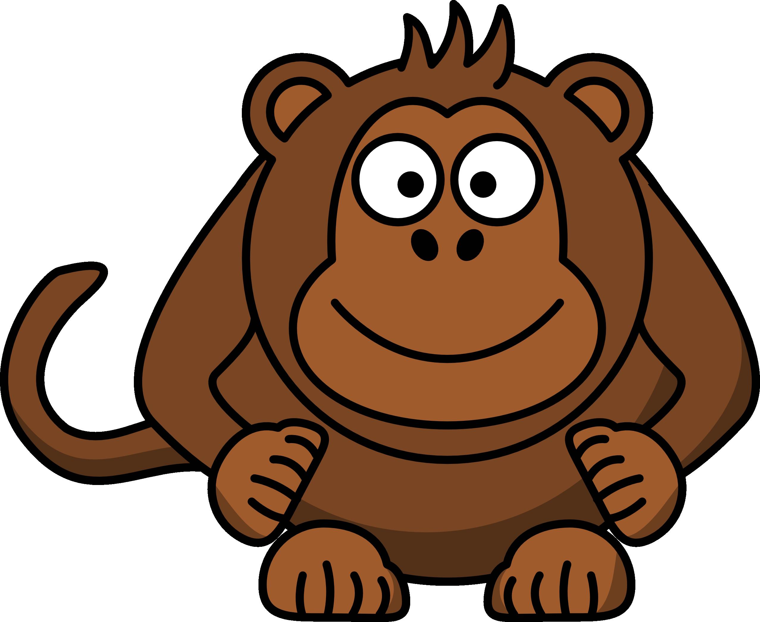 2555x2093 Monkey Cartoon Drawings