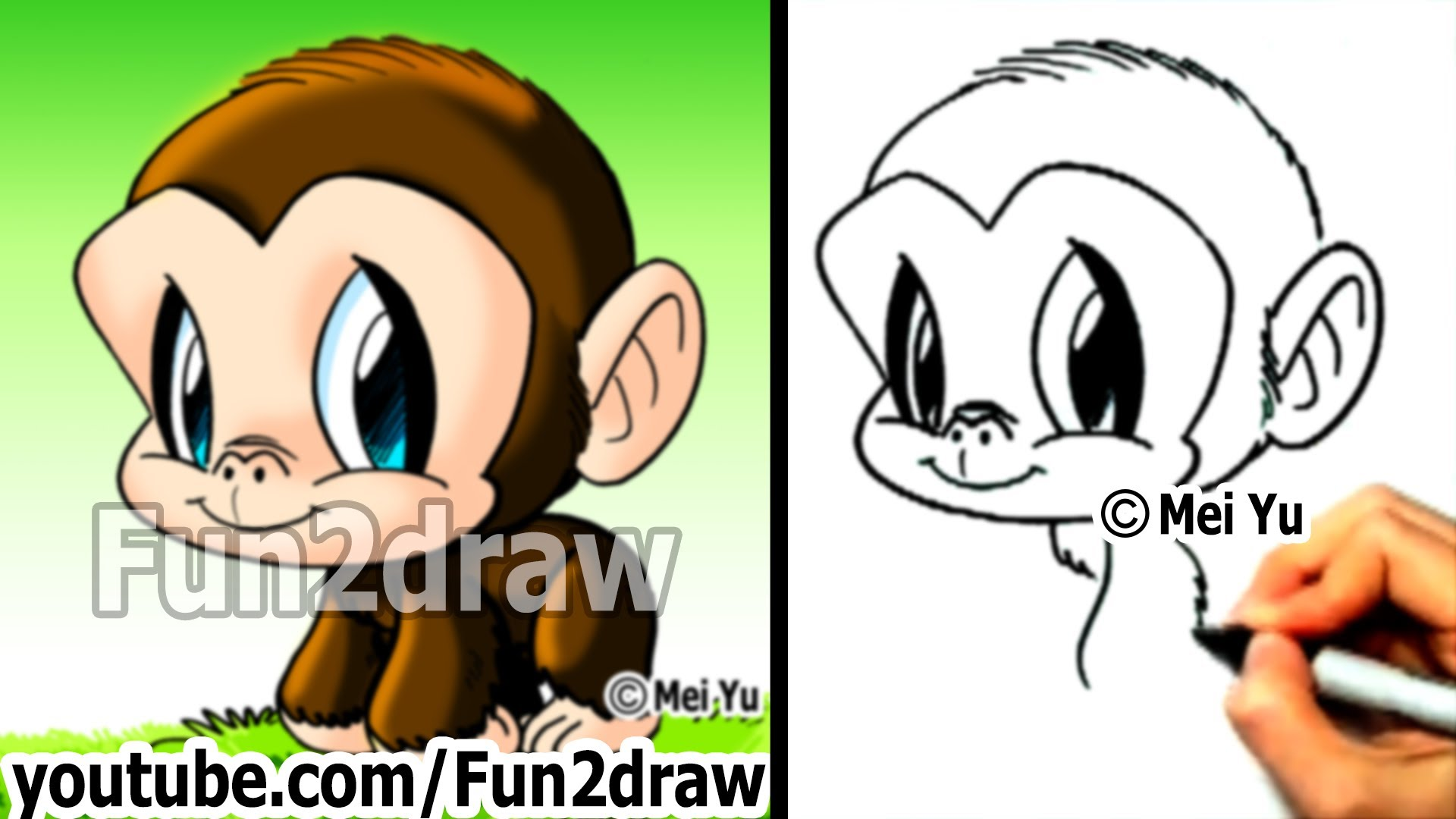Monkey Drawing Cute At Getdrawings Com Free For Personal Use