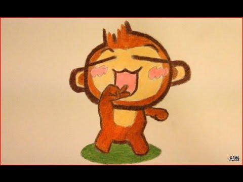 480x360 How To Draw A Monkey