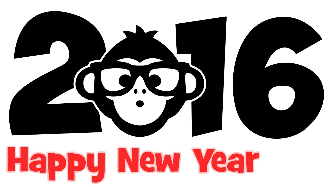 1280x720 How to draw Monkey New Year 2016 step by step easy drawing for