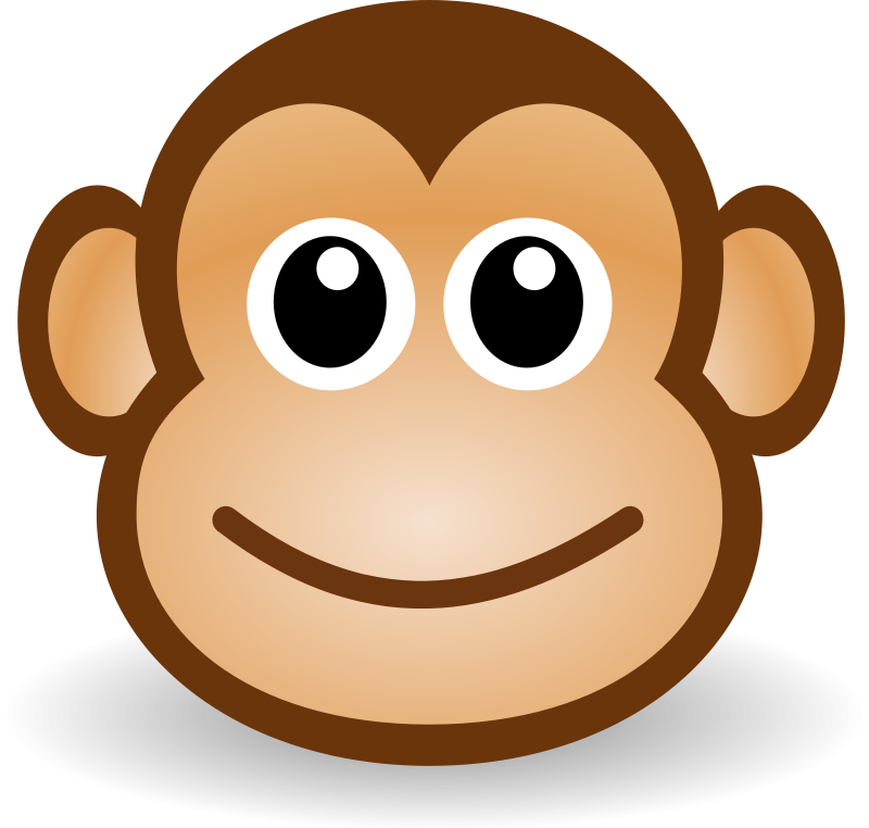 800x762 How To Draw Drawing Monkeys for Kids