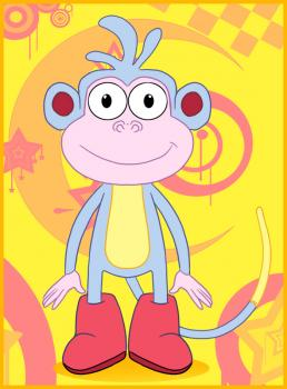 258x350 How To Draw How To Draw Boots The Monkey From Dora The Explorer