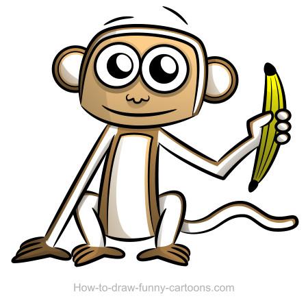 450x442 Monkey Drawings (Sketching + Vector)