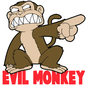 300x300 How To Draw The Evil Monkey From Family Guy Drawing Tutorial