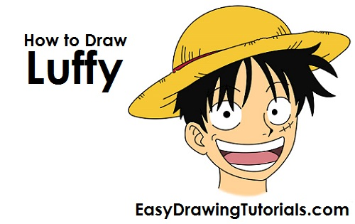 500x315 To Draw Monkey D. Luffy